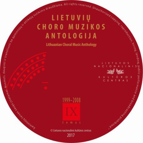 CD Lietuvių choro muzikos antologija IX