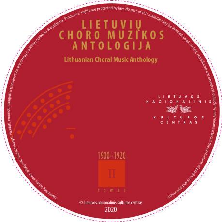CD Lietuvių choro muzikos antologija II