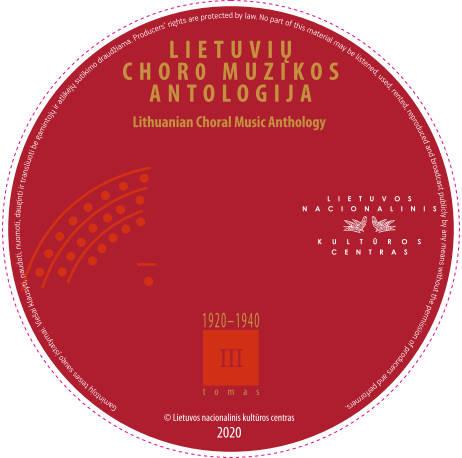 CD Lietuvių choro muzikos antologija III