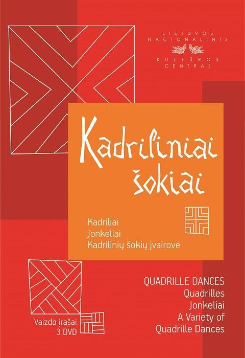 Kadriliniai šokiai DVD